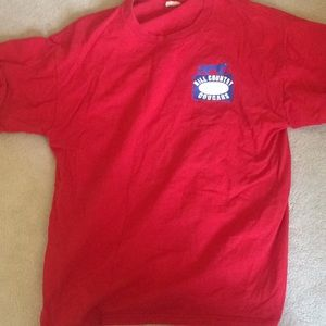 Red hill country cougars shirt